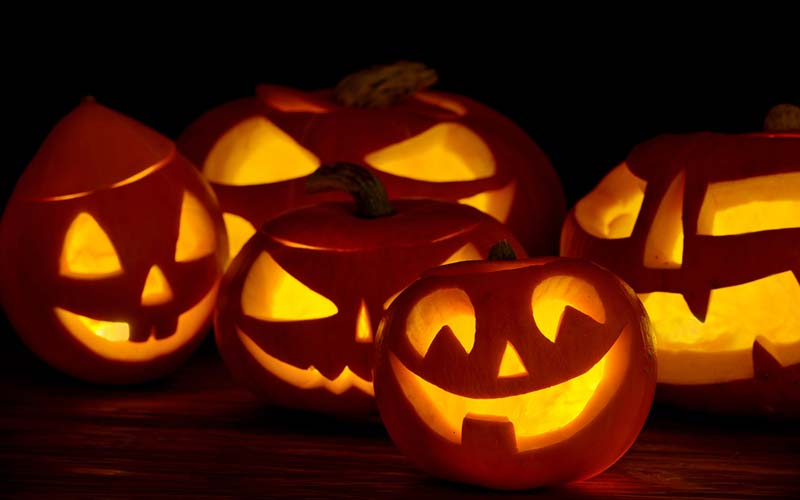 Help prevent food and household waste this Halloween